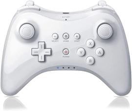 For Nintend For Wii U Pro Controller USB Classic Dual Analog Bluetooth Wireless Remote Controle For WiiU Pro U Gamepad White