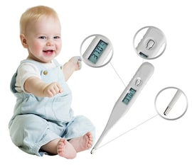 Medical temperator  thermometer  LCD