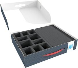 Feldherr - Pudełko na 10 figurek oraz gąbka modularna FSLB075