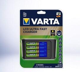 Ładowarka Akumulatorków Varta Lcd Ultra Fast Charger