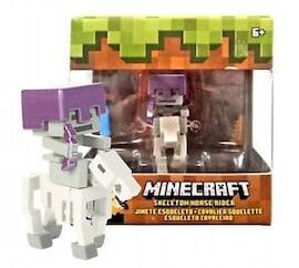 Mattel Minecraft Rider Horse skeleton FVH12