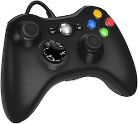 USB Wired Controller Game Accessories Gamepad Joypad Joystick For Microsoft XBOX360 Console PC Black