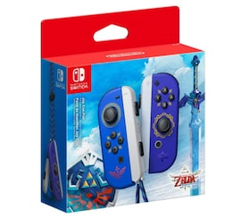 Nintendo Switch Joy-Con Wireless Controller Pair - The Legend of Zelda Skyward Sword Edition Blue