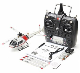 Original XK K123 RC Helicopter (With Remote Control)