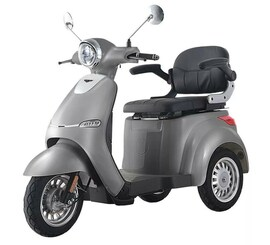 Hecht Citis Max Shadow Wózek Skuter Elektryczny Inwalidzki Dla Seniora Akumulatorowy E-Skuter Motor