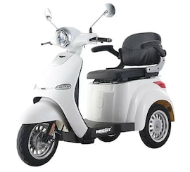 Hecht Citis Max White Wózek Skuter Elektryczny Inwalidzki Dla Seniora Akumulatorowy E-Skuter Motor