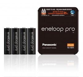 Akumulatorki Eneloop Pro Panasonic Aa 2500 Mah 4 Szt. Sliding Pack