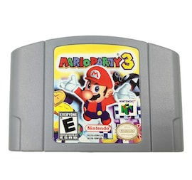 Mario Party 3 Video Game Cartridge English  US Version NTSC for Nintendo 64 N64 Game Console  Gaming