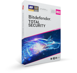 Bitdefender Total Security (5 Devices, 1 Year) - PC, Android, Mac, iOS - Key EUROPE