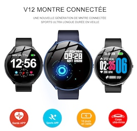 Mbtaua-Watch KOSPET V12 Waterproof Smart Watch