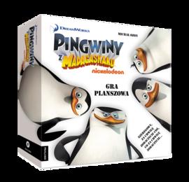 PINGWINY Z MADAGASKARU : GRA PLANSZOWA