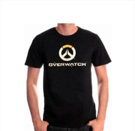 Overwatch - Full Logo T-Shirt (L)  L Black
