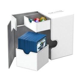 Ultimate Guard Deck Case Flip'n'Tray 100+ Standard XenoSkin Białe