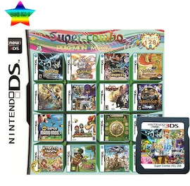 208 In 1 Video Game Compilation Card For Nintendo DS/3DS/2DS Console Nintendo 3DS