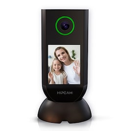 HIPCAM Indoor Smart Home Security Camera WiFi 1080 FHD Nigth Vision 2 Way Audio&Video Face & person detection