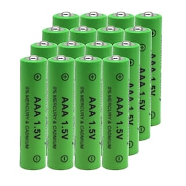 16PCS Rechargeable AAA Battery 3000mAh Battery 1.5V 30000mAh