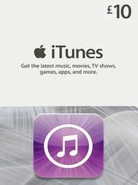 Apple iTunes Gift Card UNITED KINGDOM 10 GBP iTunes
