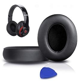 1Pair Replacement Ear Pads Black