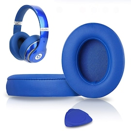 1Pair Replacement Ear Pads Blue