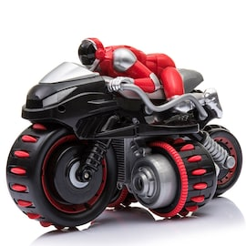 1pcs Remote Control 360° Rolling Motorcycle Toys with Music Sound for Boys Birthday Christmas Gift