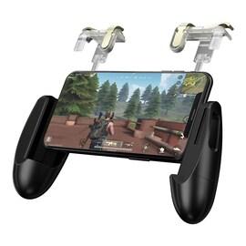 2 in 1 Mobile Game Trigger Controller Fire Button Gamepad+L1R1 Aim Key Joystick