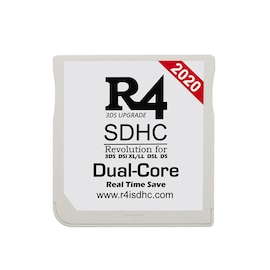 2020 R4 SDHC Dual-Core for DS/3DS/2DS/DSi Revolution Cartridge With USB Adapter