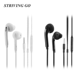 2020 S6 Earphones with Noise Isolating and Stereo Sport Earbud for IOS and Android Black