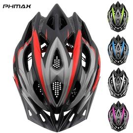 2021 Bicycle Helmet Ultralight EPS+PC Cover MTB Road Bike Cycling Helmet Integrally-mold Cycling Helmet Cycling Safely C Black