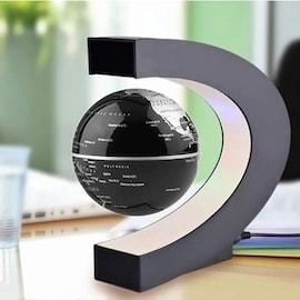 2021 loatingx Magnetic Levitation Globe LED World Map Electronic Antigravity Lamp Novelty Ball Light Home Decoration Bir