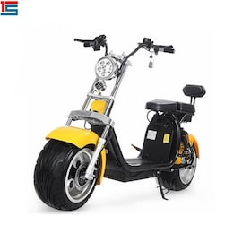 2021x citycoco 72v electric scooter from best seller high quality Black