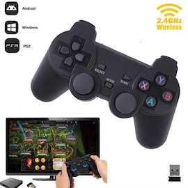 2.4G Wireless Joypad Game Controller Micro USB version with Bracket for Android Phone/PC/PS3/TV Box