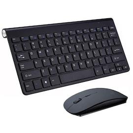 2.4G Wireless Keyboard and Mouse Mini Multimedia Keyboard Mouse Combo Set For Notebook Laptop Mac Desktop
