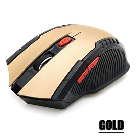 2.4GHz Wireless Mice With USB Receiver Gamer 2000DPI Mouse For Computer PC Laptop Black