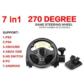 270 Degree Racing Gamepad Steering Wheel Vibration Joysticks For PS4 PS3 PS2 PC XBOX 360 XBOXONE NSSWITCH