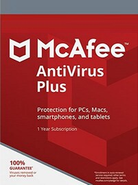 McAfee AntiVirus Plus 1 Device 1 Year PC Key GLOBAL