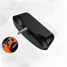 3.5 Jack Bluetooth 5.0 Audio Transmitter Earphone/Wireless Headset/Adapter Converter for Universal PS4 PS5 Controller Black