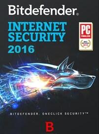 Bitdefender Internet Security 2016 3 Devices 6 Months PC Bitdefender GLOBAL
