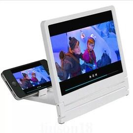 3D Movie Screen HD Amplifier White