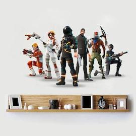 3D Wall sticker party cartoon house decoration Autocollant