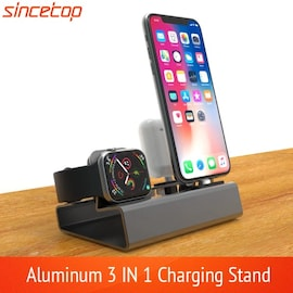 3in 1 Charging Dock Silver