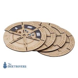 4 Construction wheels set for Barrage