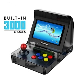 4.3 Inch Built In 3000 Games Handheld Game Console Family Kid Gift Toy