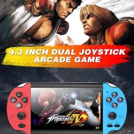 4.3 inch Double Rocker Handheld Game Console Retro Portable Handheld Video Game Console 4.3