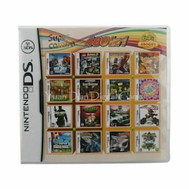 480 in 1 MULTI CART Combo Video Games Cartridge Console Cart for Nintendo DS NDS 3DS XL 2DS NDSL NDSI Nintendo 3DS Gaming
