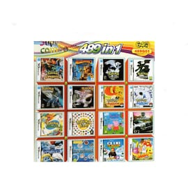 489 in 1 Video Game Cartridge Compilation Card For DS 2DS 3DS NDSL NDSI Console Nintendo 3DS