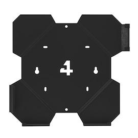4MOUNT WALL MOUNT FOR PS4 PLAYSTATION 4 SLIM BLACK SET