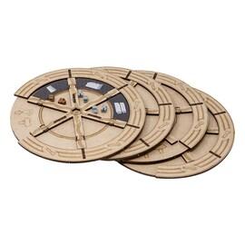 5 Construction wheels set for Barrage