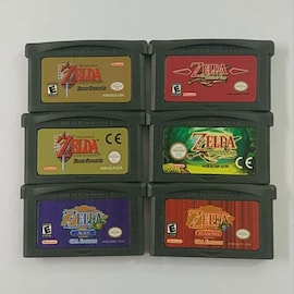 6-Pack Video Game Cartridge Console Card Minish Cap The Legend of Zelda Series  For Nintendo NDSL GBA SP/GB/GBC Gaming