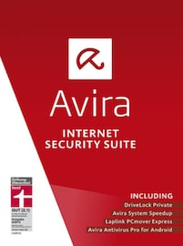 Avira Internet Security Suite 1 Device 1 Year PC Key GLOBAL