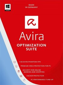 Avira Optimization Suite 1 Device 1 Year Key GLOBAL